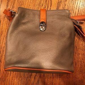 Valentina Cross body leather bag